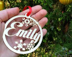 Cheap Personalised Christmas Decorations Custom Ornaments Etsy