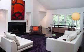 black and white living room modern hi tech minimalstic urban
