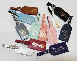 luggage tag wedding favors luggage tag favor etsy