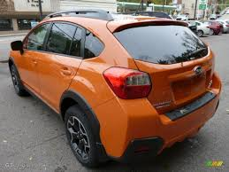 subaru orange tangerine orange pearl 2014 subaru xv crosstrek 2 0i limited