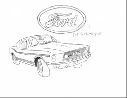 marvelous ford mustang coloring page with mustang coloring pages