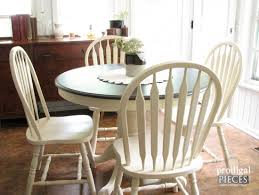 How To Paint Kitchen Table And Chairs by Farmhouse Table Makeover With Homeright Sprayer Prodigal Pieces