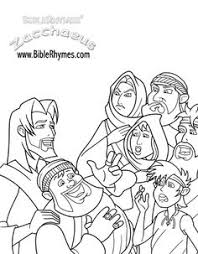 Coloring Pages Zaccheus Free Printable Coloring Pages Zacchaeus Zacchaeus Coloring Page