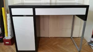 Schreibtisch Schwarz Lack Ikea Schreibtisch Schwarz Weiß Saigonford Info