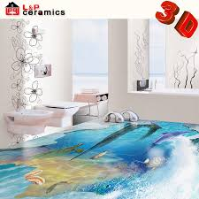 2015 new products bathroom tile 3d ceramic floor tile 3d wall and