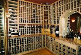 artful wine cellar with a peak design by patrick wallen interior