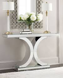 glass mirrored console table console tables with mirror best 25 table ideas on awesome mirrored