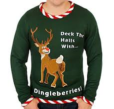rudolph sweater sweater rudolph dingleberries sweater in green