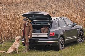bentley suv 2018 bentley bentayga field sports edition by mulliner is the most
