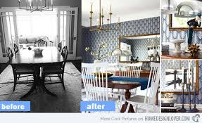 15 before and after pictures of dining room makeovers home