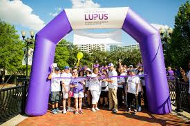 2018 walk to end lupus now and wellness way orl at lake eola