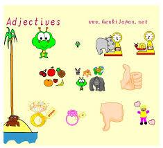 adjectives japanese teaching ideas