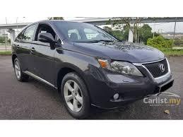lexus suv malaysia search 171 lexus rx350 cars for sale in malaysia carlist my