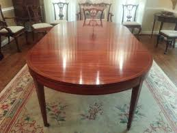 john mark power antiques conservator mahogany dining room table