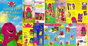 barney spring 1999 new product guide by bestbarneyfan on deviantart