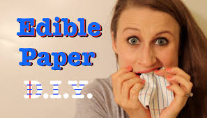Where To Buy Edible Paper How To Make Edible Paper Youtube