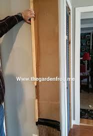 Wood Patio Doors Diy Scrap Wood Patio Cat Door Hometalk