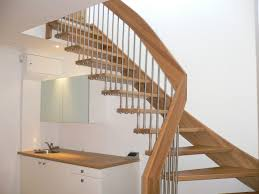 fancy wooden spiral staircase with unique timber spiral stairs
