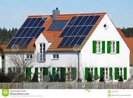 alternative energy house stock image image of house 13404335