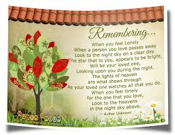 quotes about remembering loved ones quotes about