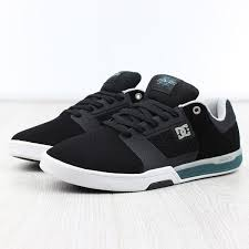 Sepatu Dc dc shoes cole lite 2 black turquoise sparkle
