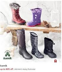 womens boots zulily zulily s kamik boots from 14 99 save 10 30