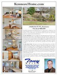 sold for 11 above the list price 18420 61st pl ne kenmore 18420 61st pl ne kenmore flyer page 1