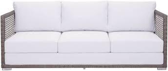 Coronado Patio Furniture by Coronado Outdoor Sofa Cocoa Light Gray Zuo Modern Modern