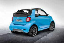 smart fortwo cabrio brabus edition the roller skate opens up by