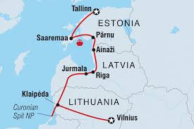 Lithuania World Map by Lithuania Tours U0026 Travel Intrepid Travel Us