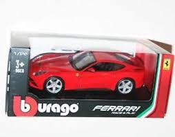 f12 model burago f12 berlinetta die cast model scale 1
