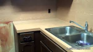 paint for kitchen countertops painting kitchen countertops youtube