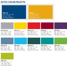 color palette kctcs