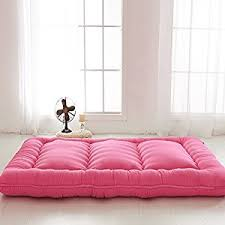 amazon com red futon tatami mat japanese futon mattress cheap