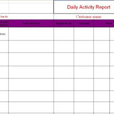 Daily Sales Report Template Excel Free Daily Report Template Sle For Business Helloalive