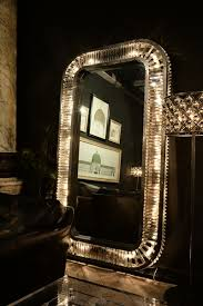 light up floor mirror art deco glamour recast timothy oulton