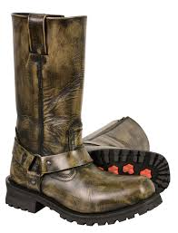 mens leather motorcycle boots for sale men u0027s motorcycle genuine leather distressed brown 11 inch boot