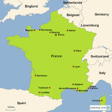 France Map With Cities by France Vacations With Airfare Trip To France From Go Today