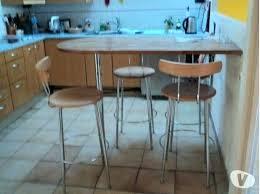 table cuisine bar hauteur table bar cuisine pour etroite de haute en bois