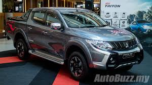 mitsubishi malaysia mitsubishi triton updated adds esc and 7 airbags priced from