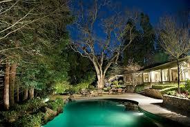 Residential Landscape Lighting Custom Landscape Lighting With Tree Features Sestak Lighting Design