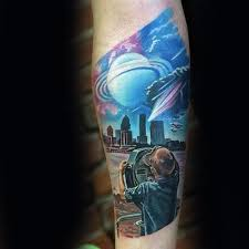 70 sky tattoos for atmosphere design ideas