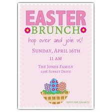 easter brunch invitations easter invitation wording paperstyle