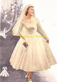 vintage wedding dress patterns plus size or any size vintage 1949 wedding dress sewing