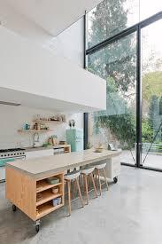 interiors nordic scandinavian interior features sleek kitchen with