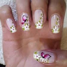 pretty butterfly nail designs s