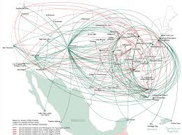 Alaska Flight Map by Analysis Could Spirit Be Looking To Merge With Frontier Nycaviation