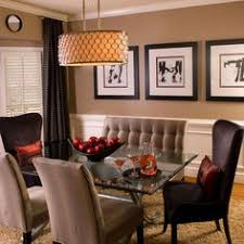elegant transitional dining room by jane lockhart on homeportfolio