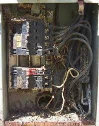 electrical service panels internachi