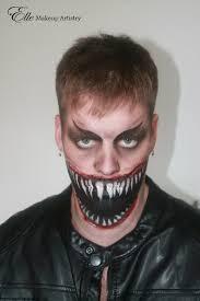 makeup artist halloween elle makeup artist halloween makeup scary large mouth razor